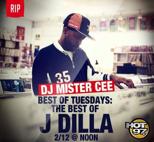 j dilla tribute hot 97 mister cee